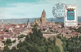 España Nº 1637 En Tarjeta - Maximum Cards