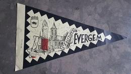 Evergem St. Kristoffel Papieren 1958 Vaantje Fanion Wimpel Vlag - Evergem