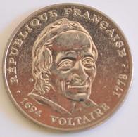 FRANCIA 5 FRANCS 1994 VOLTAIRE - France