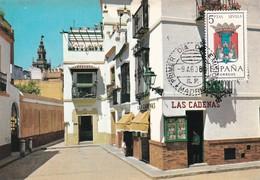 España Nº 1638 En Tarjeta - Maximum Cards