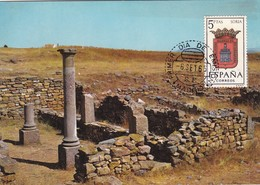 España Nº 1639 En Tarjeta - Maximum Cards