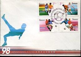 53689 Macau, Fdc  Football World Champ. France 1998 - 1999-... Chinese Admnistrative Region