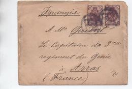 1899 - ENVELOPPE De RUSSIE Pour ARRAS - Briefe U. Dokumente