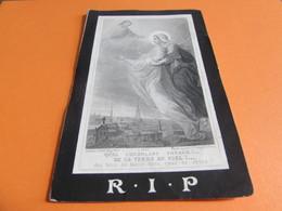 DOODSPRENTJE  JOANNA-MARIA MOMMAERTS - Images Religieuses