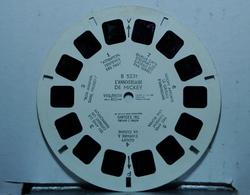 VIEW MASTER : TARZAN SAUVE NUMA LE LION   B 5803 - Stereoscopes - Side-by-side Viewers