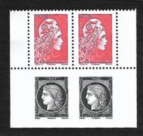 """France 2019 -Yv N° 5253 & 5359 ** -  Céres Noire & Marianne L'engagée  (issus Du Carnet """" Salon D'Automne"""") - Unused Stamps"""