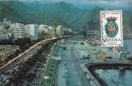 España Nº 1641 En Tarjeta - Maximum Cards