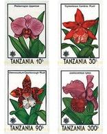 Ref. 365243 * MNH * - TANZANIA. 1990. EXPO 90. INTERNATIONAL GARDENING EXHIBITION. ORCHIDS . EXPO 90. EXPOSICION UNIVERS - Tanzania (1964-...)