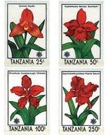 Ref. 365245 * MNH * - TANZANIA. 1990. EXPO 90. INTERNATIONAL GARDENING EXHIBITION. ORCHIDS . EXPO 90. EXPOSICION UNIVERS - Tanzania (1964-...)