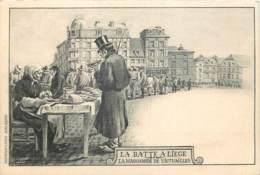 Lot De 7 C.P.A. *** Différentes De La Province De Liège - Souvenir Du Pays De Liège - Belgique