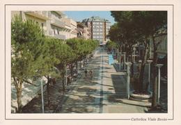 833 CATTOLICA - VIALE BOVIO - ANIMATA - BICI - NON VIAGGIATA - Andere Städte