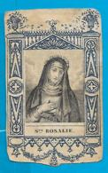 Holycard    19. Century    St. Rosalie - Santini