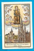 Holycard   O.L.V. Van Laken - Imágenes Religiosas