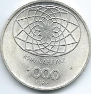 Italy - 1000 Lire - 1970 - KM101 - Centennial Of Roma As Capital City - 1 000 Lire