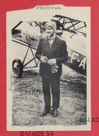 CPA - FRONVAL Aviateur - Photo André - Attention état Decoupée = Bas Prix - Flieger