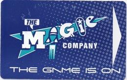 Carte De Centre De Jeux : The Magic Company : Afrique Du Sud (Surface Endommagée) - Casino Cards