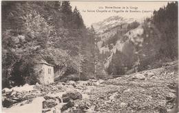 LES CONTAMINES MONTJOIE  -  NOTRE DAME DE LA GORGE- LA SAINTE CHAPELLE  - Editeur : L. MORAND De Megève  . N°353 - Les Contamines-Montjoie