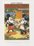 Buvard  -  WALT DISNEY    MIKEY MOUSSE - Buvards, Protège-cahiers Illustrés