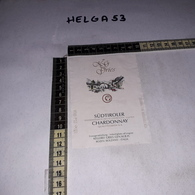 TL0068 BOLZANO KELLEREI GRIES GEN M.B.H. SUDTIROLER CHARDONNAY ETICHETTA VINO - Altri