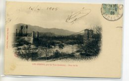 07 LES ASSIONS Plutot Rare Le Pont De Fer Environs Les Vans - écrite Timb 1905     /D15-2017 - France