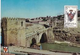España Nº 1696 En Tarjeta - Maximum Cards