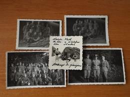 ILE DE GROIX  WW2 GUERRE 39 45 BRETAGNE  TROUPES ALLEMANDES SUR L ILE PLAGE BARAQUEMENT - Groix