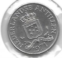 *neth Antilles  25 Cent 1971  Km 11 - Antillen (Niederländische)