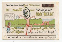 CPA.publicité Publicitaire.pritt.roue Métallique 2° Montée Sur Antidérapant Barthelat.        .E.90 - Advertising