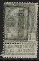 Tongeren 1905  Nr. 695B - Roller Precancels 1900-09