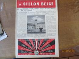 LE SILLON BELGE DU 5 MARS 1955 LES MACHINES AU SALON DE BRUXELLES,LE CONCOURS-FOIRE D'ATH,LE PROBLEME DE LA PIE NOIRE EN - Animals