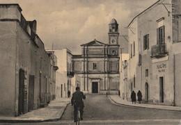 CAMPI SALENTINA ( Lecce ) - Via Calasanzio E Chiesa S. Pompilio - - Lecce