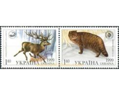 Ref. 6471 * MNH * - UKRAINE. 1999. MAMMALS . MAMIFEROS - Oekraïne