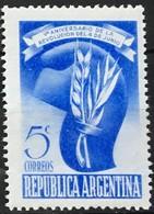 ARGENTINA 1948  Mi:AR 550,  Yt:AR 495 ** MNH - Nuovi