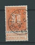 [108_0003] Zegel 108 Met Ster Stempel Han-sur-lesse Scan Voor- En Achterzijde RELAIS - 1912 Pellens