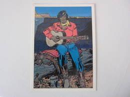 Carte Postale GIR CHARLIER BLUEBERRY Westren Song 1/4 - Bandes Dessinées