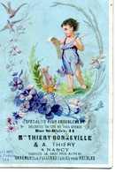Carte Publicitaire T.Bonneville à Nancy - Textile & Vestimentaire