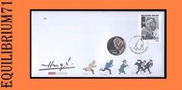NUMISLETTER 2007 - Tintin (3648) / Kuifje (3648) / Tim (3648) - BELGIQUE - Comics