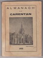 ALMANACH De Carentan 50 Manche France -1955 - Non Classés