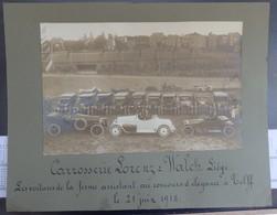 TILFF - Automobile/Automobiles - Concours D' Elégance Le 21 Juin 1914 - Carrosserie LORENZ WALCH Rue Fétinne, 60, Liège - Esneux