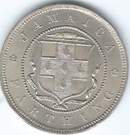 Jamaica - 1900 - Victoria - ¼ Penny / Farthing - KM15 - Jamaica