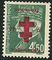 FRANCE LIBERATION  ..RR....... PROVINS 4f50** Vert Typo..Sge Rouge... .Signé - Liberation