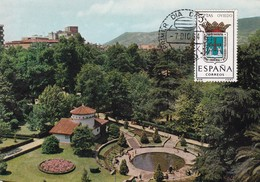 España Nº 1562 En Tarjeta - Maximum Cards