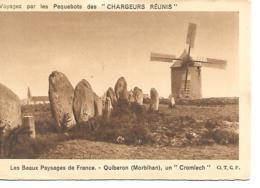 CPA 56 QUIBERON UN CROMLECH - Quiberon