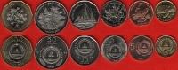 Cape Verde Set Of 6 Coins: 1-100 Escudos 1994 UNC - Cape Verde