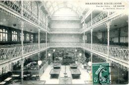N°71254 Bis -cpa Le Havre -brasserie Excelsior -rue Du Chilou- - Hotels & Gaststätten
