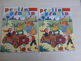 Perlin-Pinpin Numéro 0 (zéro) Numéro De Propagane, Lot De 2 Exemplaires, Vers 1950 ; L07 - Books, Magazines, Comics