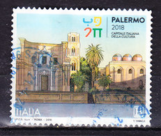 2018 PALERMO CAPITALE CULTURA USATO - 6. 1946-.. República