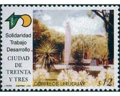 Ref. 126227 * MNH * - URUGUAY. 2003. 150th ANNIVERSARY OF THE CITY OF THIRTY-THREE . 150 ANIVERSARIO DE LA CIUDAD DE TRE - Uruguay