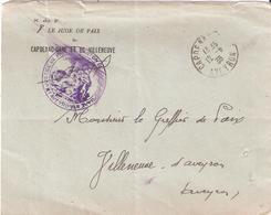 Aveyron :- CAPDENAC GARE Franchise LE JUGE DE PAIX - Marcophilie (Lettres)