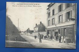 PERTHES-EN-GATINAIS   Hôtel De La Paix  Café Tabac Maison COGNE      Animées - France